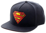 Superman- Gold Weld Logo Snapback Hat