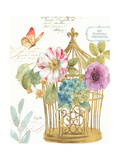 Rainbow Seeds Romantic Birdcage I Posters by Lisa Audit