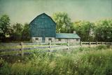 Blissful Country III Crop Art by Elizabeth Urquhart