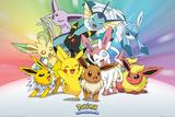 Pokemon- Eevee-Lutions Poster