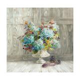 Rustic Florals Print by Danhui Nai