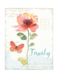 Rainbow Seeds Floral IX Family Poster by Lisa Audit