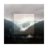 Framed Landscape I Prints by Laura Marshall