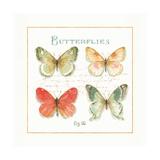 Rainbow Seeds Butterflies III Posters by Lisa Audit