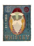 Fisherman VIII Old Salt Whiskey Premium Giclee Print by Ryan Fowler