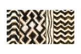 Black and Gold Geometric VII Prints by Shirley Novak