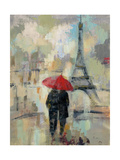 Rain in the City II Print by Silvia Vassileva