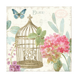 Rainbow Seeds Floral Birdcage II v2 Posters by Lisa Audit