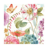 Rainbow Seeds Flowers II Poster by Lisa Audit