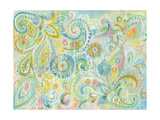 Spring Dream Paisley Prints by Danhui Nai