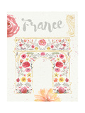 Paris Blooms II Premium Giclee Print by Jess Aiken