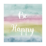 Rainbow Seeds Painted Pattern XIV Cool Happy Print by Lisa Audit