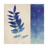 Indigo Leaves IV Prints by  Studio Mousseau