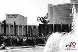Evel Knievel- Caesars Palace Jump 50Th Anniversary Poster