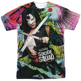Suicide Squad- Katana Psychedelic Graffiti Shirts