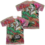 Suicide Squad- Joker Psychedelic Graffiti (Front/Back) Sublimated