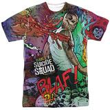 Suicide Squad- Diablo Psychedelic Graffiti Shirts