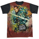 Suicide Squad- Slipknot Psychedelic Graffiti Black Back Shirts