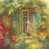 Charme Provençale Giclee Print by Johan Messely