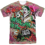 Suicide Squad- Joker Psychedelic Graffiti Sublimated