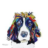 Lucy Giclee Print by Aziz Kadmiri
