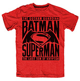 Batman v Superman- Battle of Heroes T-shirts