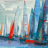 Barcolana Giclee Print by Laurence Mauviel