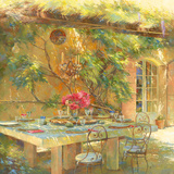 Le goût du Sud Giclee Print by Johan Messely