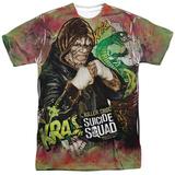 Suicide Squad- Killer Croc Psychedelic Graffitti T-shirts