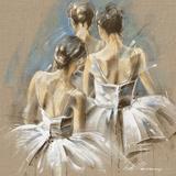 White Dress IV Giclee-trykk av Kitty Meijering
