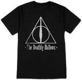Harry Potter- The Deathly Hallows Badge - Tişört
