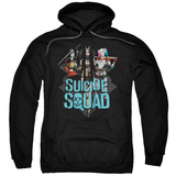 Hoodie: Suicide Squad- Femme Fatales Pullover Hoodie