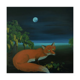 Moonlighting Wixen, 2016 Giclee Print by Magdolna Ban