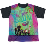 Youth: Suicide Squad- Line Up Black Back T-shirts