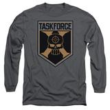 Long Sleeve: Suicide Squad- Taskforce X Shield T-Shirt