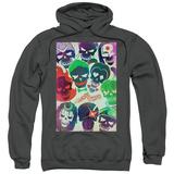 Hoodie: Suicide Squad- Sugar Skull Poster Pullover Hoodie