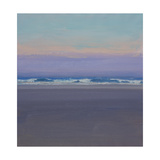Evening Waves Giclee Print by John Miller