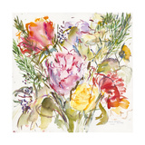 Rose Bouquet, 2006 Giclee Print by Claudia Hutchins-Puechavy