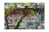 Terrace View Giclee Print by Cristiana Angelini