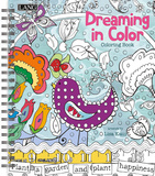 Dreaming In Color Coloring Book Book