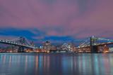 NYC- City Between The Bridges Prints