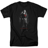 Supergirl- Hero In Noir T-shirts