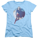 Womens: Supergirl- In the Clouds T-shirts