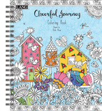 Cheerful Journey Coloring Book Book