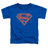 Toddler: Supergirl- Classic Emblem T-Shirt