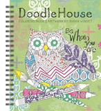 Doodle House Coloring Book Book