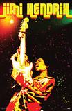 Jimi Hendrix- Electric Confetti Print