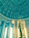 Jefferson Memorial 2 Prints by Golie Miamee