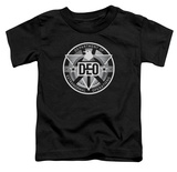 Toddler: Supergirl- DEO Badge T-Shirt