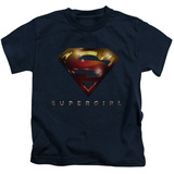 Juvenile: Supergirl- Radiant Shield T-Shirt